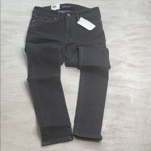 LEVI'S Made and Crafted 711 Skinny Black Denim